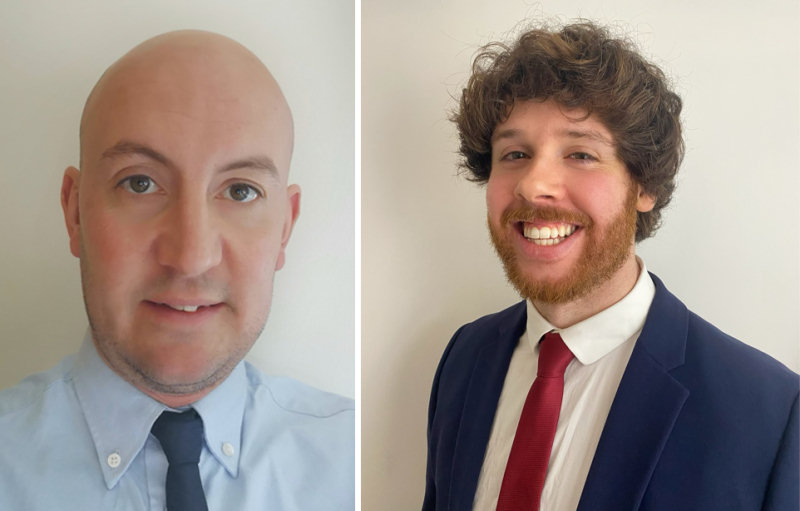 Matt Dudley and Dan Braithwaite
