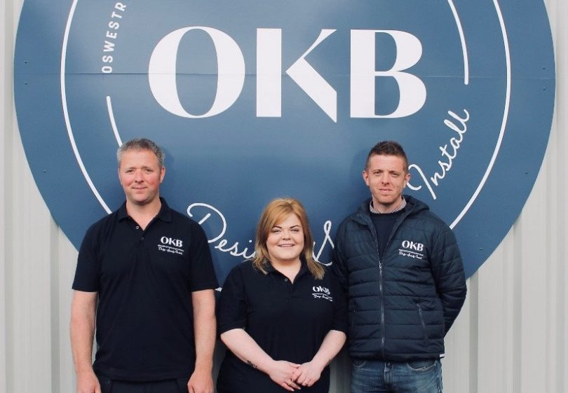 Ben, Michael and Carolyn are looking forward to welcoming customers to their new studio
