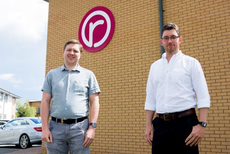 Paul Barnett, Senior Web Developer and Chris Murray, Head of Development at Reech