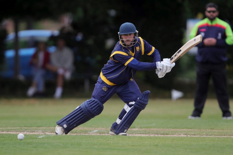 Ryan Lockley led the way with the bat for Shropshire against a Worcestershire CCC XI by hitting an unbeaten 81. Photo: James Baylis