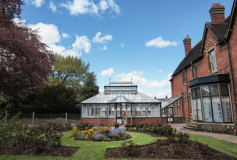The Halliday Conservatory at Sunnycroft. Photo: NT/Jayne Gough
