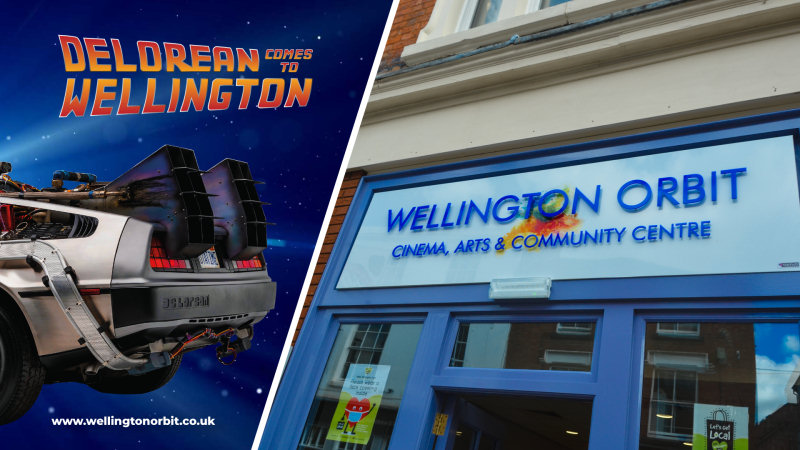 A DeLorean car will be making an appearance in Wellington Square on Saturday 22nd May