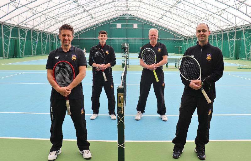 Ellesmere College coaching team