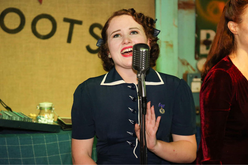 Hattie Bee will be performing at Severn Valley Railway's 1940s weekends this summer
