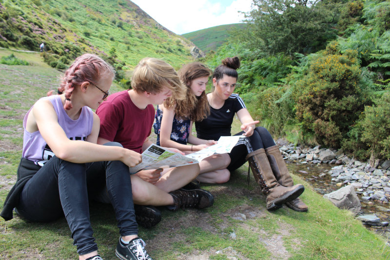 Students take part in Geography fieldwork