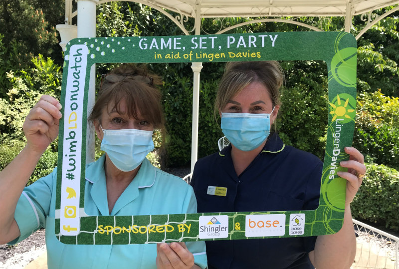 HCA, Caron Davies and Urology/Oncology Cancer Nurse Specialist, Sarah Perry who both work in the Lingen Davies Cancer Centre