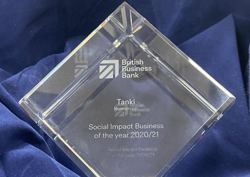 Tanki's Social Impact Business of the Year Award