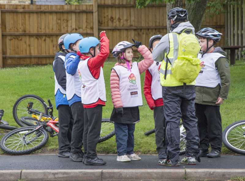 Bikeability is designed to encourage safe and confident cycling for children and adults through a range of modules aimed at various ages and abilities