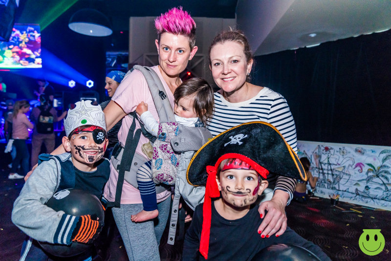 The family rave will have a 'Pirates & Mermaids' theme
