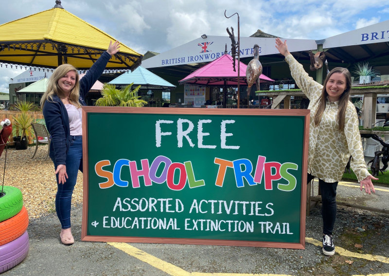 The British Ironwork Centre is relaunching its school trip programme