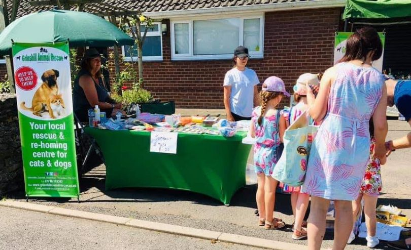 A number of stalls donated the money they raised to support local causes including the village church and Grinshill Animal Rescue