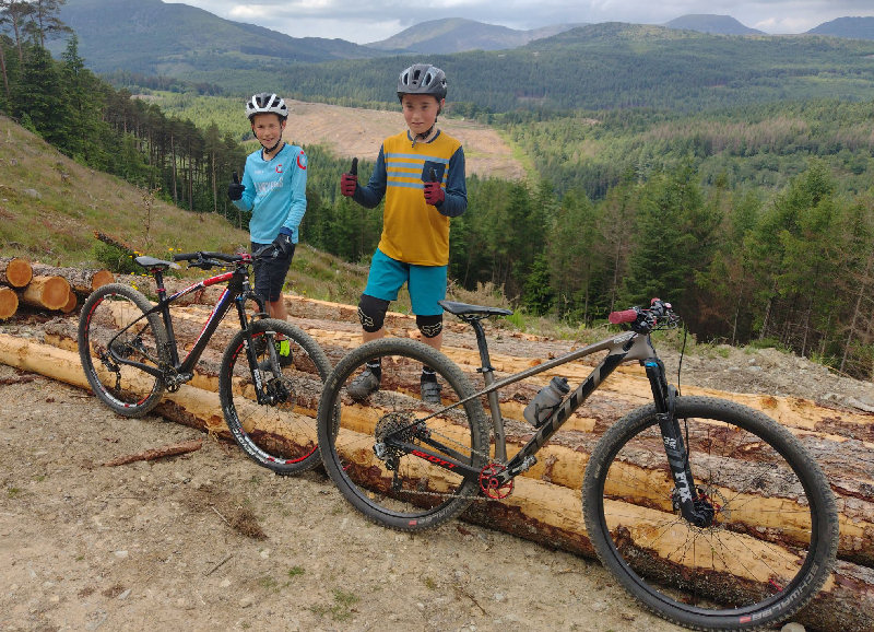Isaac Vickery aged 10 is riding the 100-miles in one day in honour of his grandad accompanied by his 11-year-old friend Joe Wooliscroft
