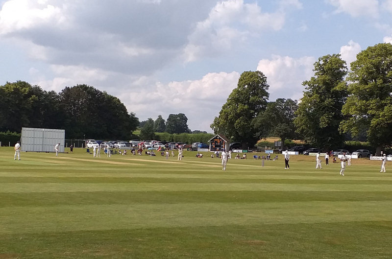 Shifnal Cricket Club hosted Shropshire's opening NCCA Championship match of the season against Herefordshire