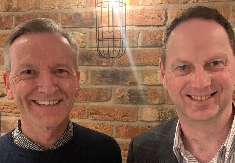 Silverpreneurs® co-founders Vernon Hogg and Chris Gough