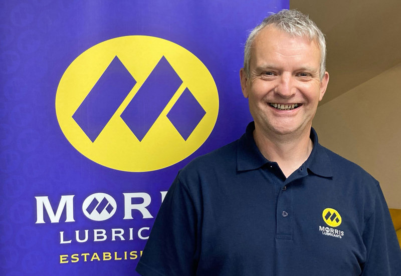 Simon Holroyd, Morris Lubricants' Heritage Account Manager