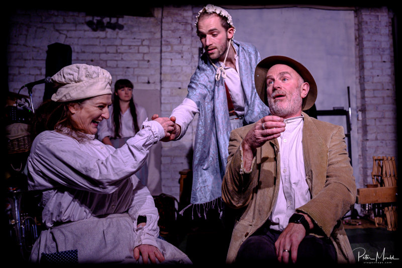 Hotbuckle Productions, will bring its version of Thomas Hardy's Tess of the D'Urbervilles to Coalbrookdale Museum of Iron. Photo: Peter Mould