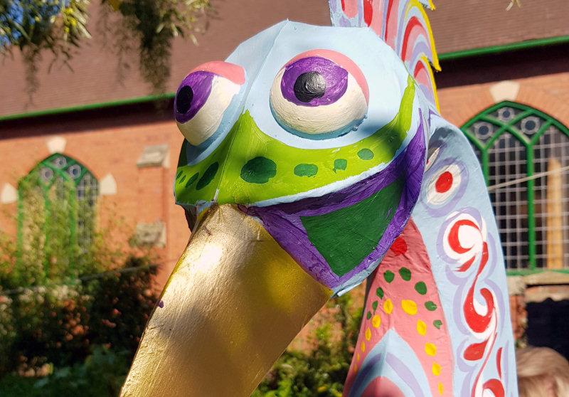 Tony Lewery's exotic bird