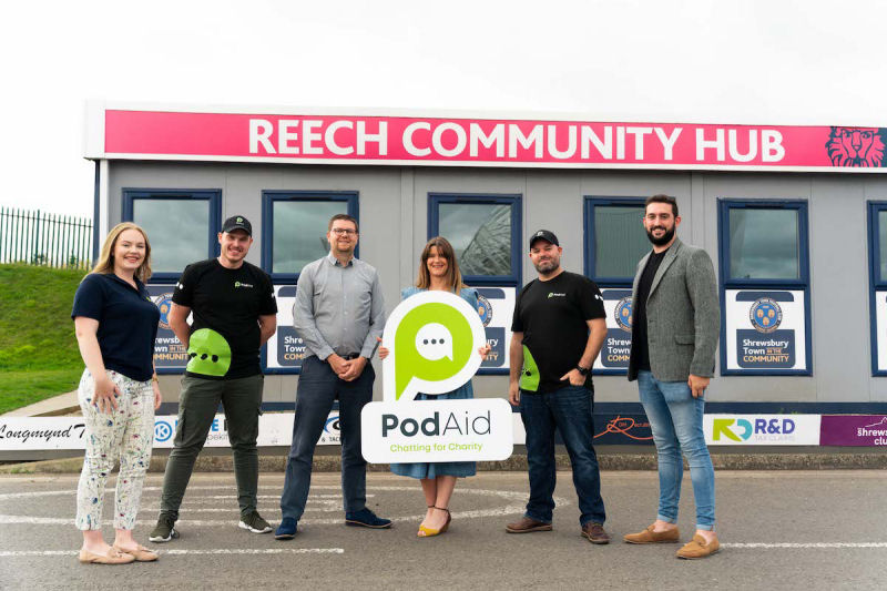 Pod Aid is fundraising for Lingen Davies Cancer Fund