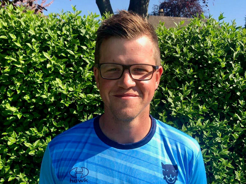Sam Whitney's maiden half-century for Shropshire helped the county draw against Wales in their last NCCA Championship match. Photo: Ian Roe