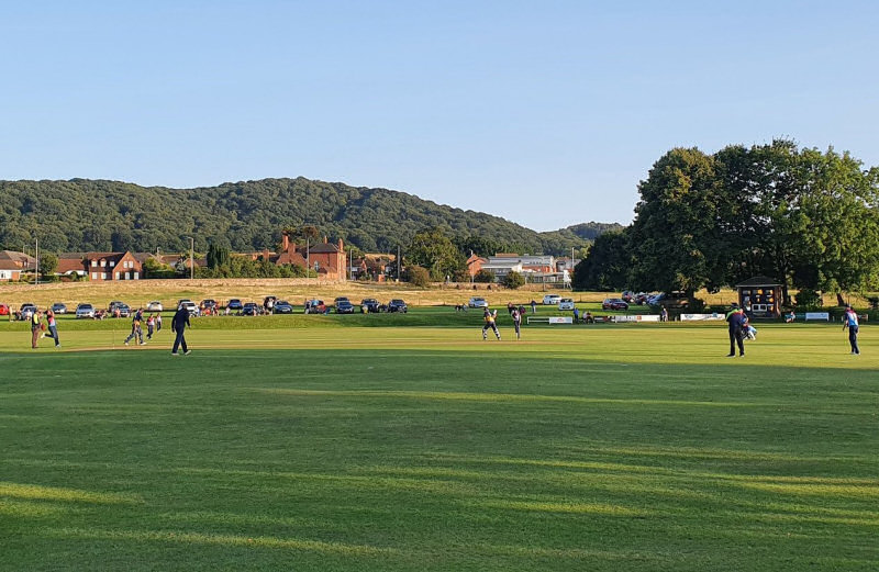 Wellington hosted Shropshire's T20 match against the RAF's representative side