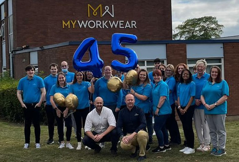 MyWorkwear has reached a big birthday milestone this week, 45 years after launching in 1976