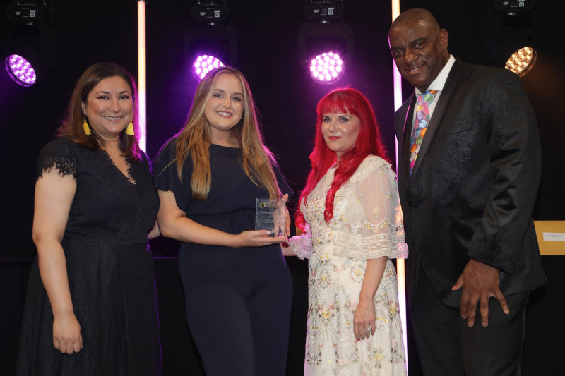 Times Radio's Ayesha Hazarika, Wrekin's Charlotte Hughes, Debi Marriott-Lavery (Group Executive Director, Places for People) and Rob Brown from Manchester City Council