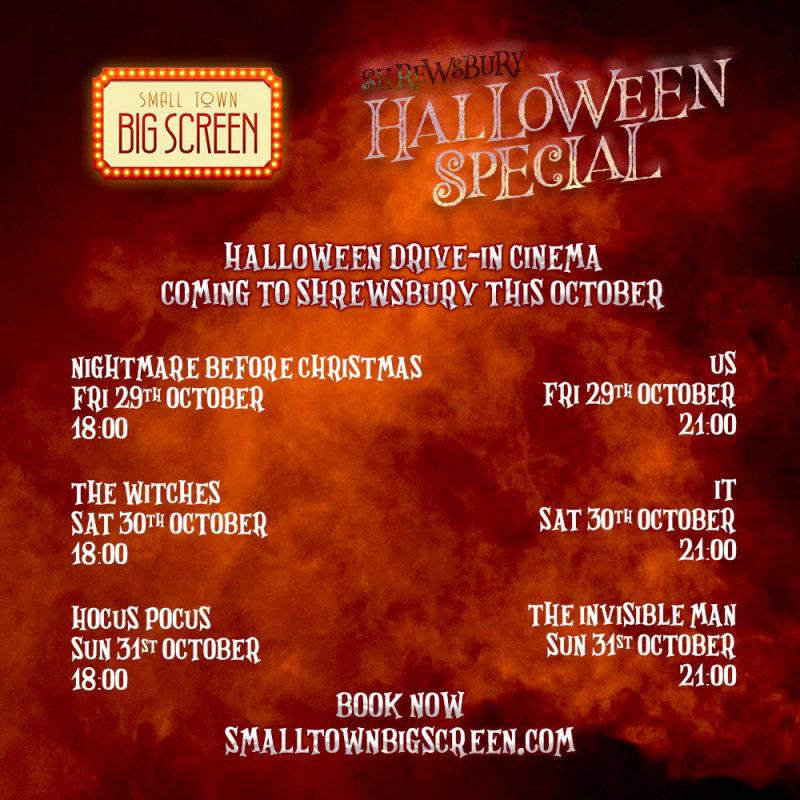 Shrewsbury Halloween Special
