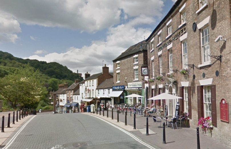The programme includes High Street in Ironbridge as part of the Pride in Our High Streets programme. Image: Google Street View