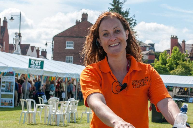 Beth Heath, Director of Fun at Shropshire Festivals