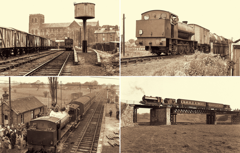 The calendar includes a special page featuring the Shropshire & Montgomeryshire Railway