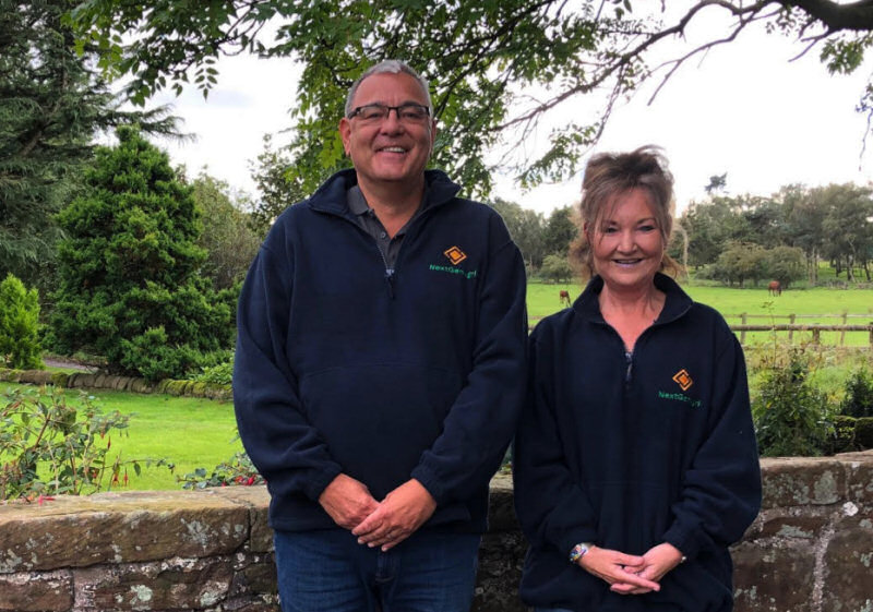 Peter Norton and Gillian Nunn of Next Gen Agri