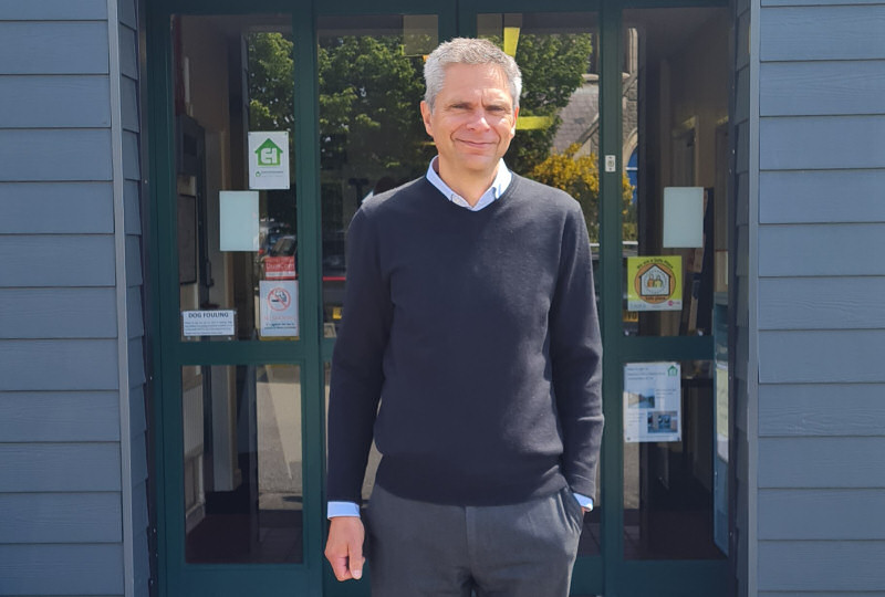 Rob McKay, manager of Enterprise South West Shropshire