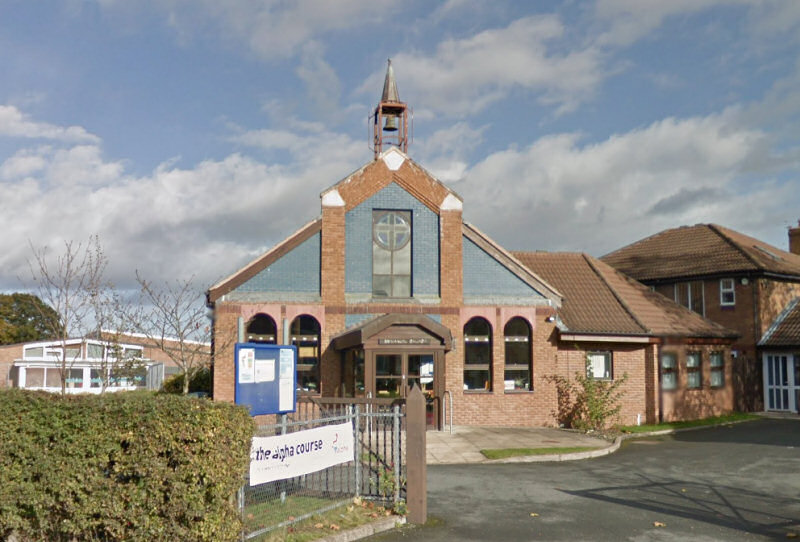 The Emmanuel Church in Shrewsbury is the site of a walk-in clinic