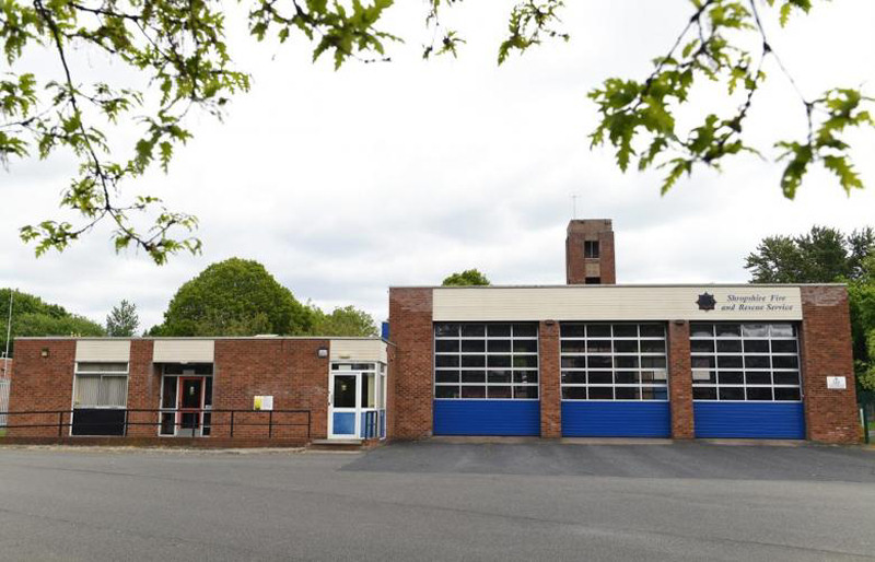 Renovation work will take place at Tweedale Fire Station. Photo: Shropshire Fire and Rescue Service